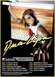 dua lipa announces 2020 uk arena tour