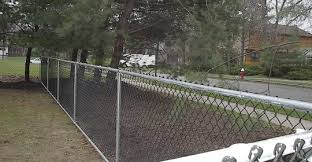 Chain Link With Top And Bottom Rail Central Jersey Fence