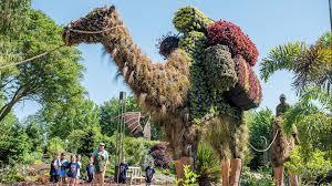 atlanta botanical garden sculpts