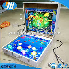 mini arcade fishing game machine mario
