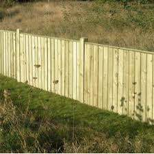 Feather Edge Fence Panel 4ft X 6ft Wooden Supplies