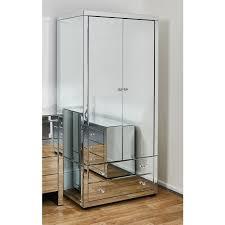 venetian mirrored wardrobe abreo