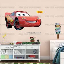 Xlarge Disney Cars Lightning Mcqueen Wall Stickers Kids Boys Bedroom Decal For Sale Online Ebay