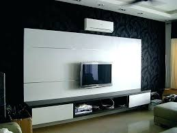 living room interiors with lcd tv