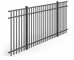 Uaf 200 Flat Top Aluminum Fencing