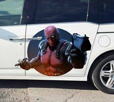 Deadpool Car Hood Decal Ebay