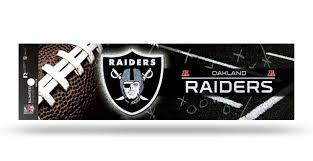 Oakland Raiders Decal Bumper Sticker Glitter Caseys Distributing