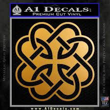 Celtic Fatherhood Knot Decal Sticker A1 Decals