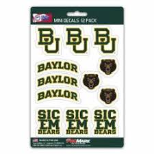 Baylor University Stickers Decals Bumper Stickers