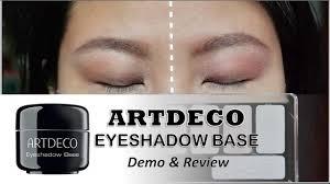 artdeco eyeshadow base primer review ft