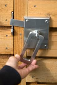 Double Sided Key Lock For Gate