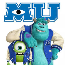 Monsters University Kit Imprimible Invitaciones De Cumpleanos