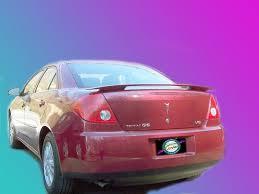 Pontiac G6 4 Door Painted Rear Spoiler Wing Fits 2005 2009 Models