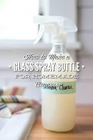 spray bottle for homemade cleaners