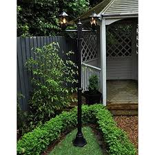 Garden Mile Large 2m Twin Victorian Lamp Post Lantern Lights Low Voltage Mains Operated Led Lights Outdoor Garden Lights Post Lights Traditional Outdoor Garden Lighting Buy Online In Aruba Homezone