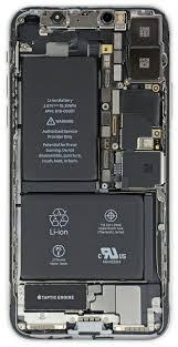 iphone x teardown 3gb ram two cell 2