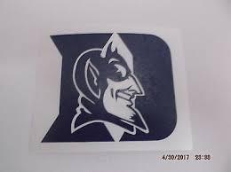 Duke Blue Devils 8 College Logo 1c Vinyl Decal Sticker Car Window Wall
