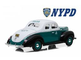 1940 Ford Deluxe Coupe New York City Police Department Nypd 1 18 Diecast Model Car By Greenlight Newegg Com