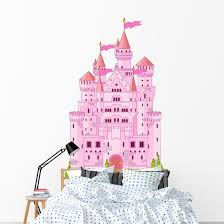 Magic Princess Castle Wall Decal Wallmonkeys Com