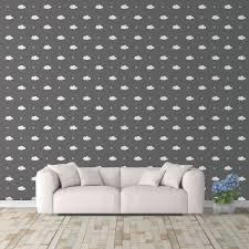 Cloud And Stars Wall Decals Pattern Vinyl Wall Wall Art