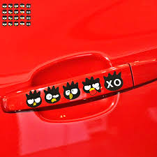 Aliauto 4 X Funny Cartoon Cool Penguin Xo Car Door Handle Sticker Decal For Volkswagen Polo Golf Chevrolet Nissan Honda Kia Lada Car Stickers Aliexpress