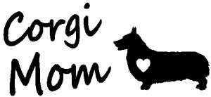 Corgi Mom Dog Car Or Truck Window Decal Sticker Rad Dezigns