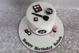 makeup themed birthday cakes saubhaya