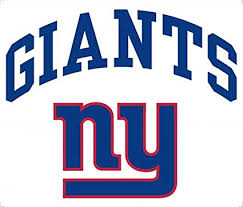 Amazon Com New York Giants 8 Arched Decal Vinyl Reusable Repositionable Auto Home Football Sports Fan Automotive Decals Sports Outdoors