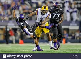 Aug. 31,2013:.LSU Tigers defensive tackle Ego Ferguson (9) hits ...