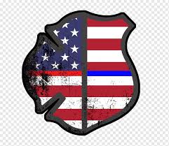 United States Fire Police Police Officer Thin Blue Line United States Firefighter Logo Sticker Png Pngwing