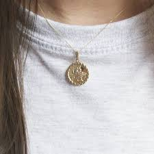 9ct gold st christopher st