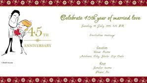 anniversary invitation card cobypic