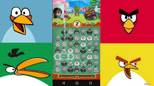 GAMEPLAY Jeu Angry Birds Android / IOS - YouTube