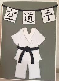 Karate Card Cricut Judo Taekwondo Knutselen Sinterklaas
