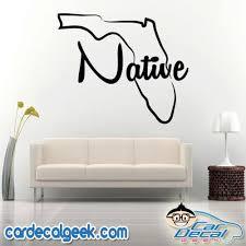 Florida Native Vinyl Car Decal Sticker Graphic