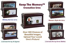 custom cremation urns in the light