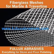 marble abrasives fiberglass mesh for