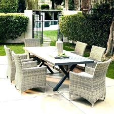 wicker outdoor dining furniture set