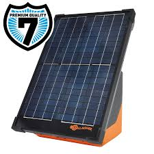 Gallagher S200 Solar Fence Energiser Incl 2 Batteries Gallagher