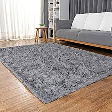 Ophanie Ultra Soft Fluffy Area Rugs For Living Room Luxury Shag Rug Faux Fur Non Slip