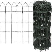 Hoop Fencing Mesh Wire Fence Premium Pvc Coated Netting 400mm X10mts Decorative Garden Fencing Amazon Co Uk Garden Outdoors