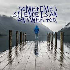 millionaire mentor quote about silence