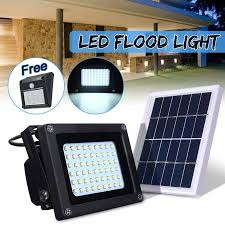 solar powered flood lights