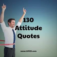 attitude quotes and sayings