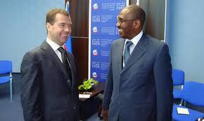 President Dmitry Medvedev of the Russian Federation speaks at the St  Petersburg International Economic Forum