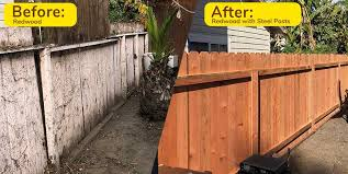 Before After Fence Photo Gallery Fence Factory