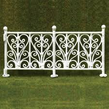 Buy Dollhouse Miniature 6 Pc Wrought Iron Fence Features Price Reviews Online In India Justdial