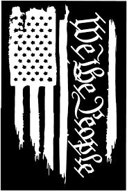 American Flag We The People Constitution 2nd Amendment Vinyl Vinyl Decals Vinyl Window Decals Car Bumper Stickers