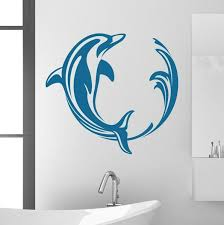 Style And Apply Dolphin Swirl Wall Decal Wayfair