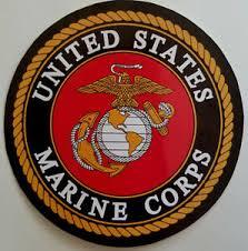 Marine Corps Full Color Emblem Usmc Car Window Decal Bumper Sticker Us Seller Ebay